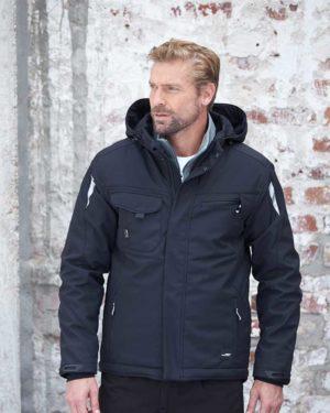 James & Nicholson | JN 824 - Workwear Winter Softshell Jacke