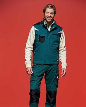 James & Nicholson | JN 825 - Workwear Winter Softshell Gilet