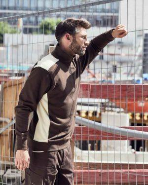 James & Nicholson | JN 868 - Workwear Halfzip Sweater
