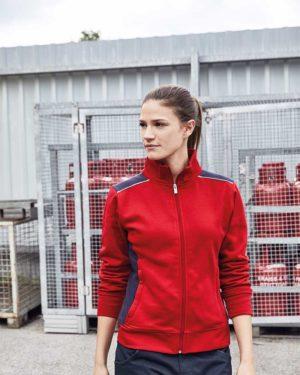 James & Nicholson | JN 869 - Damen Workwear Sweat Jacke