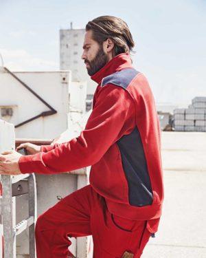 James & Nicholson | JN 870 - Herren Workwear Sweat Jacke