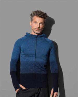 Stedman | Seamless Jacket Men - Herren Kapuzen Jacke