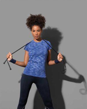 Stedman | Seamless Raglan Women - Damen Sport Shirt