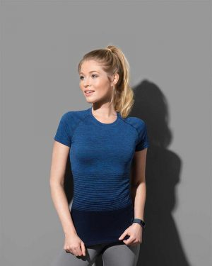 Stedman | Seamless Raglan Flow Women - Damen Sport Shirt