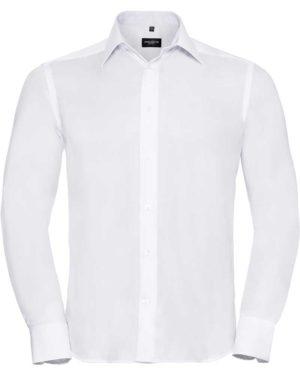 Russell | 958M - Bügelfreies Hemd langarm